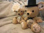 Teddy Bear - Vintage / Victorian Teddy Bear Couple by Dragon620026