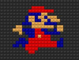 Lego Mario by drsparc