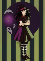 A Bad Witch by HetteMaudit