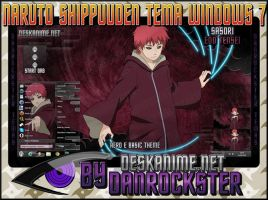 Sasori Edo Tensei Theme Windows 7 by Danrockster