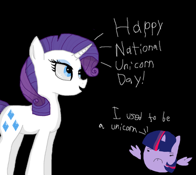 Happy National Unicorn Day! by Fangurl03