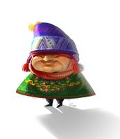 Andean character by giovannag