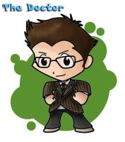 The Doctor Chibi by ChibiTigre