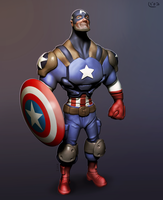 Captain America by silvanuszed