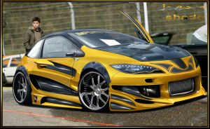 Honda civic extreme bodykit by shadowchoper