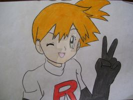 Team Rocket's newest member? by AJLeefan4life