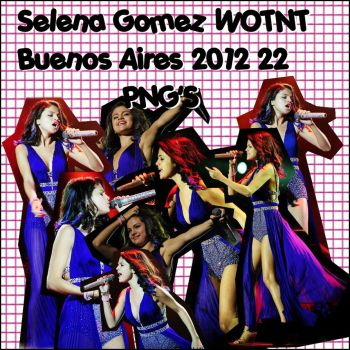 Selena Gomez WOTNT Buenos Aires 22 PNG'S by ChiariiSelenatika