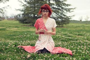Hipster Red Riding Hood by msatisfaction