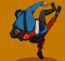 TF2 Best Buds by MoonlightTheWolf