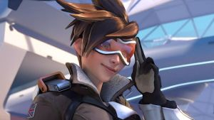 Overwatch LENA OXTON alias Tracer by Damrick