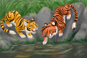 jungle fishing by shelzie