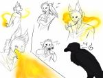 SoM AU | sum sketches by w-olflover443