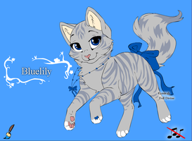 Bluelily by Pazuzu54