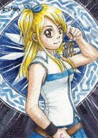 Lucy Heartfilia by AmedamaCherry