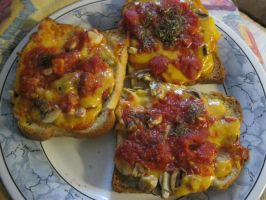 cheese on toast by LuciaDuvant