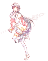 :doodle: Little Hsien by Finiell