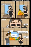 Sketchy Behavior Comics #3: Fire Starter by SketchyBehavior