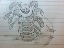 Tiny giratina by Lil-9