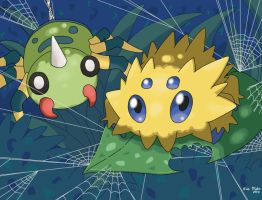 Pokemon Spiders by DragoonForce2