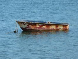 Old Row Boat by MogieG123