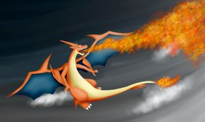 Mega Charizard Y by luxby