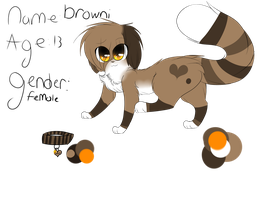 Browni the montai ouo by Riku-Cat