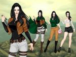 Corporal Ezra Schwarz (biography and outfits) by galateabellator