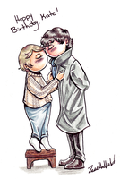 Johnlock for Kate by shylittleghost