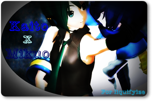 :Nia's Couple In A Bubble: Kaito x Mikuo: by MMD-Angel-Nia