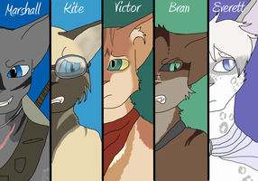 RtF The First Team by MysteryKittenThe1st
