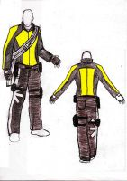 Infamous cole costume design by Agent-Michigan-MIA