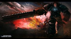 Space Marine Garen by DiceNwn