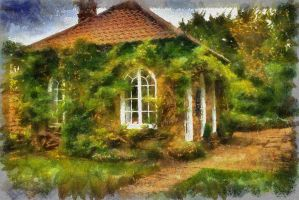 The Summer House - Paintography... by TheBaldingOne