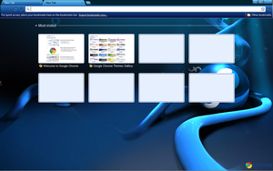 Fedora Google Chrome Theme by strychnine8301