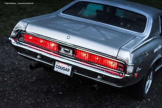 1969 Mercury Cougar Rear by AmericanMuscle