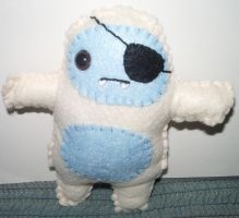 Bo the Yeti Plushie by kiddomerriweather