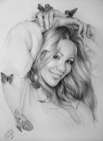 Mariah Carey Butterfly by gdvectors