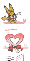 Valentine drawings by SparxPunx