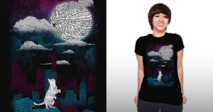 Reach the Moon at Threadless by freeagent08