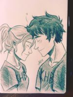 A little of Percabeth by AlexandraGuizado