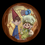 Over the Garden Wall Button by Rezllen