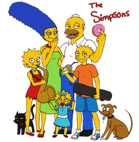 The simpsons- 1amm1Style by 1amm1