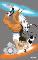 Chell by peahat