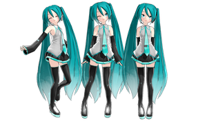 MMD : Animasa Miku Edit + DL by Ayodan