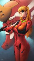 Asuka Langley Shikinami by Kit-Ho