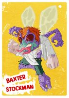 TMNT - Baxter Stockman by happymonkeyshoes