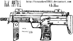 HK MP7A1 by CrazyDave55811