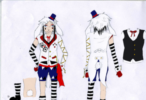 White rabbit ref by Bakura-kat