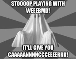 Nagging Roommate Ghost - WebMD by PlayboyVampire