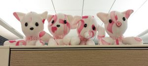 Plushies Crafted to Fight Breast Cancer 3 by guardian-of-moon